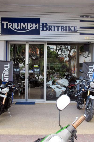 Triumph Britbike