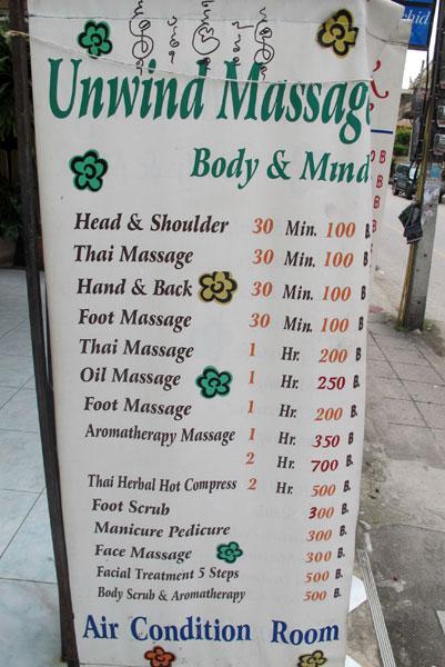 Unwind Massage
