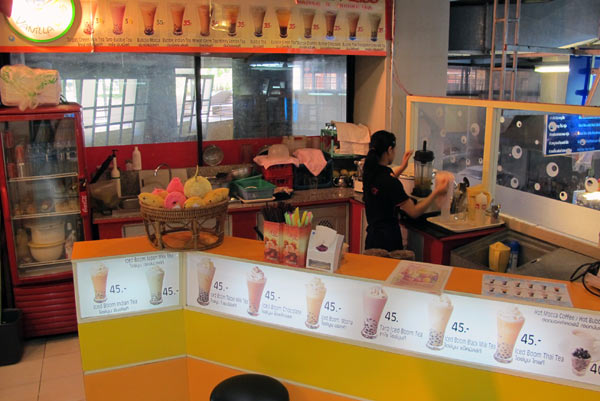 Vanilla Kiss & Bubble Tea @Kad Suan Kaew