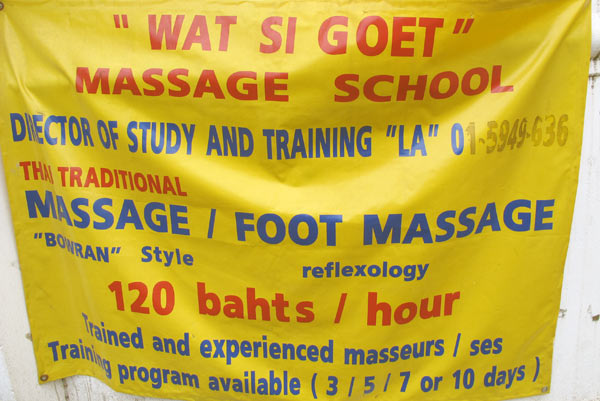 Wat Si Goet Massage School