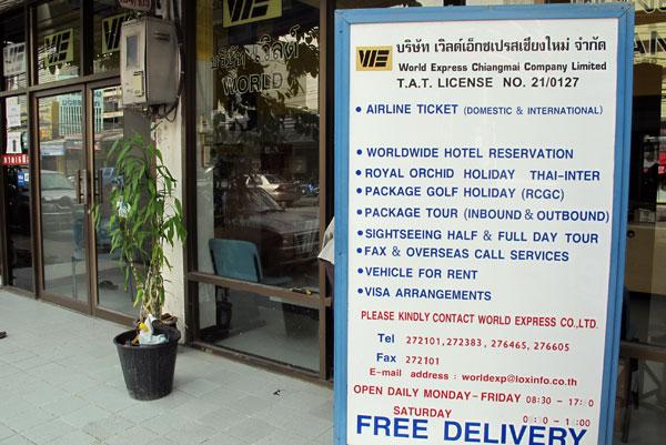 World Express Chiang Mai Co., Ltd.