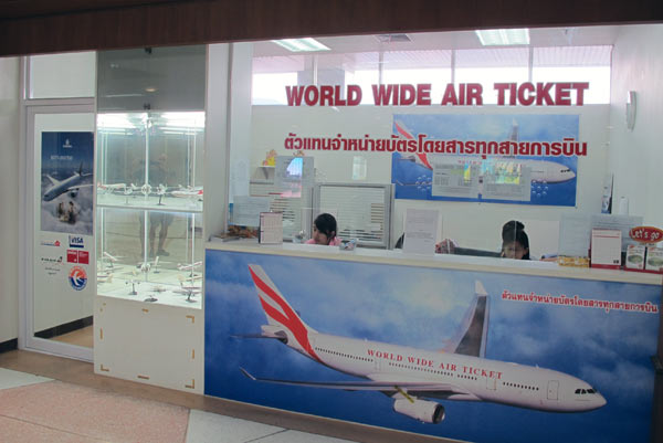 World Wide Air Ticket @Chiang Mai Airport