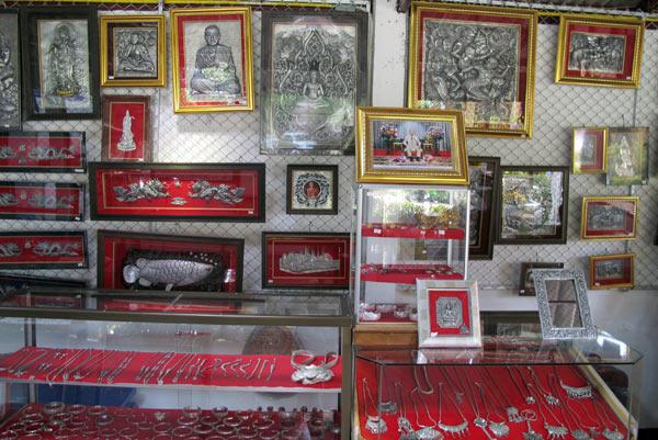 Wualai Silver Cluster @Wat Srisuphan