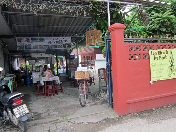 Arm Bicycle for Rent & Thai Restaurant