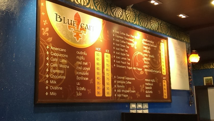 Blue Cafe by Coffee Blue