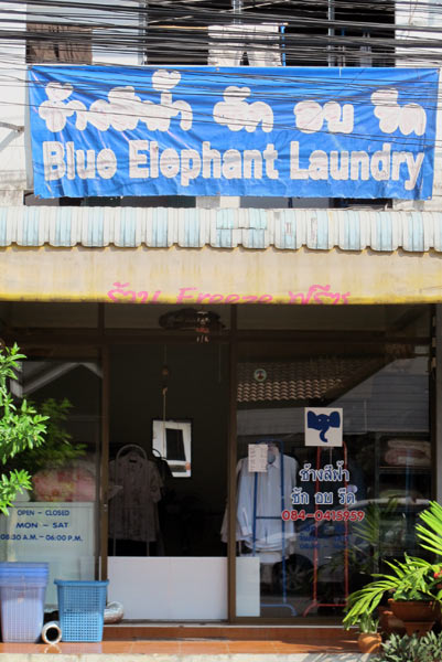 Blue Elephant Laundry