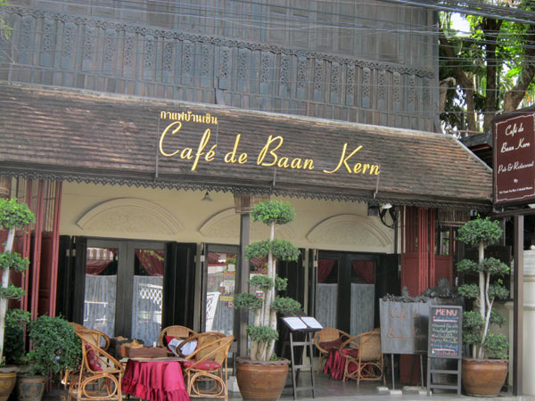 Cafe de Baan Kern @Tri Yaan Na Ros Colonial House