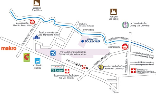 Chayayon Boulevard Condo (CY Condo) Chiang Mai