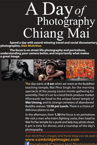 Chiang Mai: A Day of Photography
