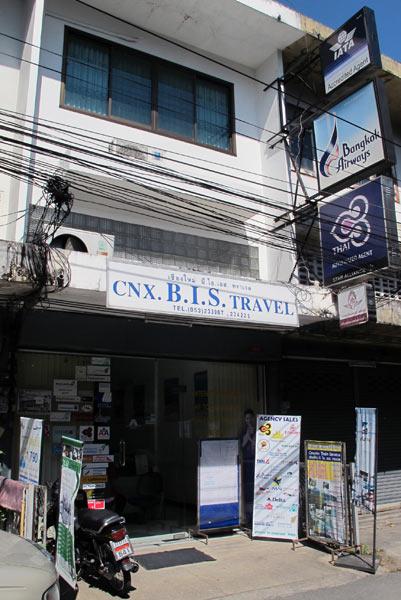 CNX. B.I.S. Travel