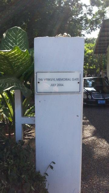Conklin Memorial Gates