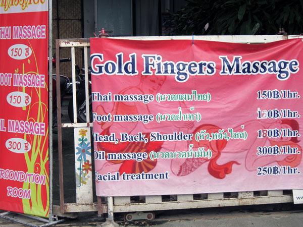 Gold Fingers Massage