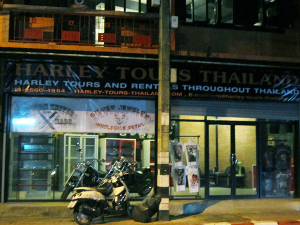 Harley Tours Thailand