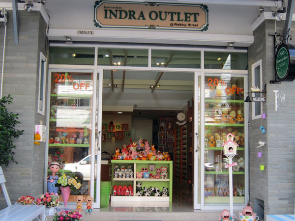 Indra Outlet @Walking Street