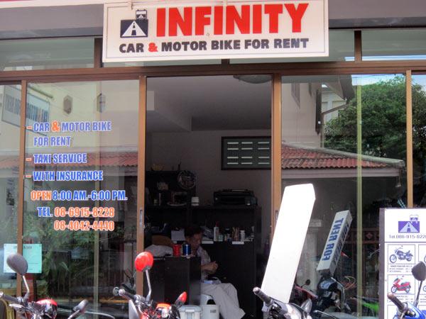 Infinity Car & Motorbike Rental