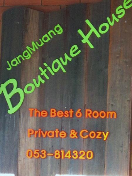Jang Muang Boutique House