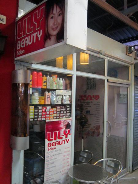 Lily Beauty Salon @Kalare Night Bazaar