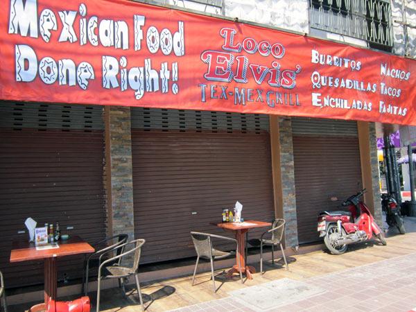 Loco Elvis' Tex-Mex Grill