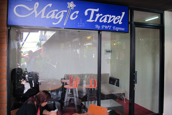 Magic Travel By PWT Express @Tall Teak Plaza