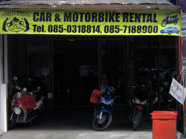 Monkey's Monster Car & Motorbike Rental