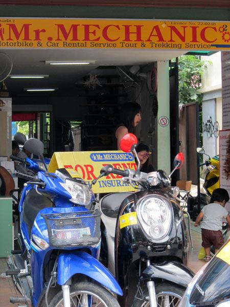 Mr. Mechanic Motorbike & Car Rental Service (Moonmuang Rd)
