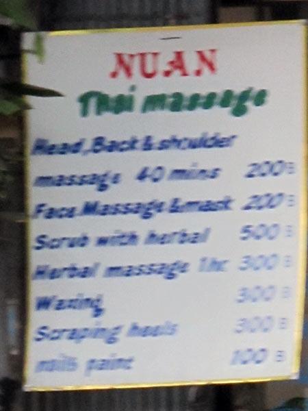 Nuan Thai Massage