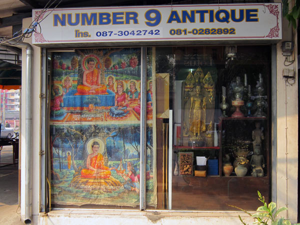Number 9 Antique