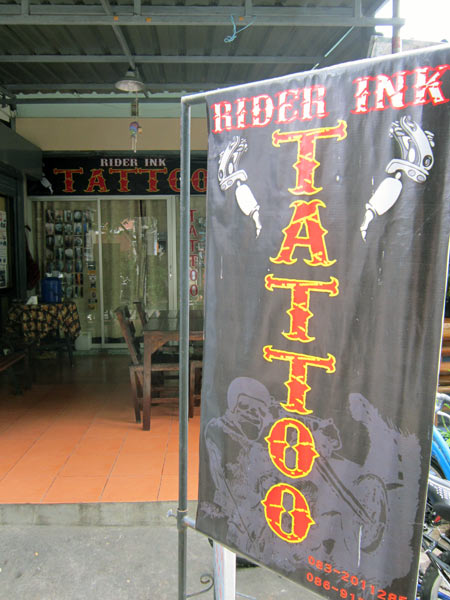Rider Ink Tattoo @Chinda House