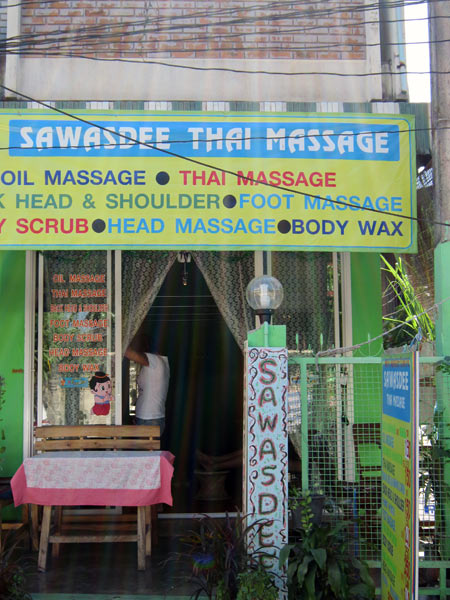 Sawasdee Thai Massage (Moon Muang Soi 6)