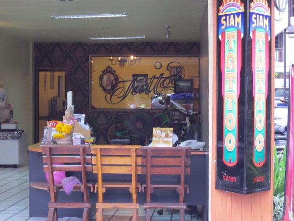 Siam Tattoo @POP Car Rental (Moon Mueang Rd)