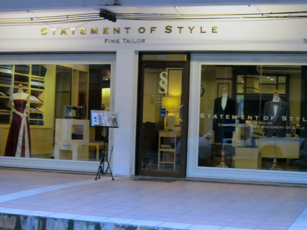 Statement of Style (Fine Tailor)