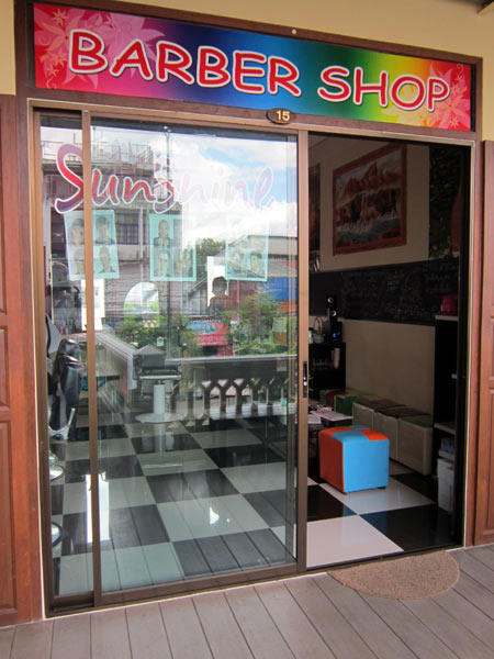 Sunshine Barber Shop @Rachadamnoen Plaza