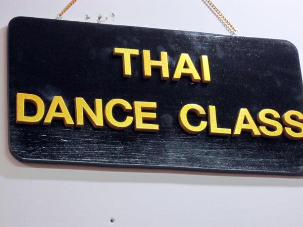 Thai Dance Class with Pinpaga Pucharearn @Kad Suan Kaew
