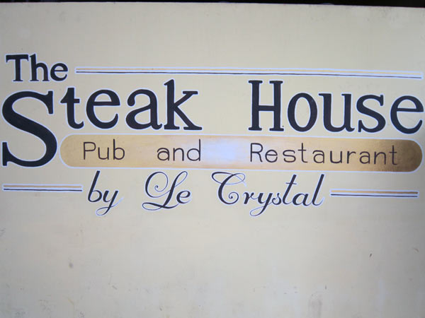 The Steak House by Le Crystal
