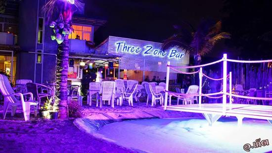 Three Zone Bar