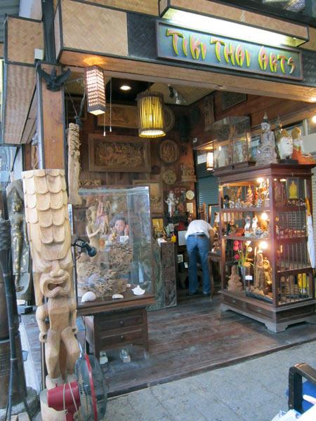 Tiki Thai Arts @Kalare Night Bazaar