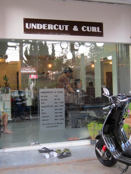 Undercut & Curl