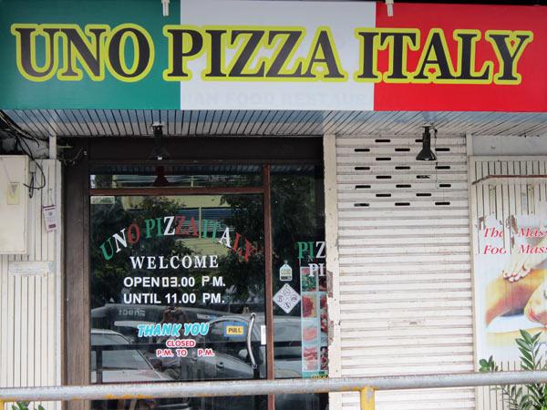 UNO PIZZA ITALY