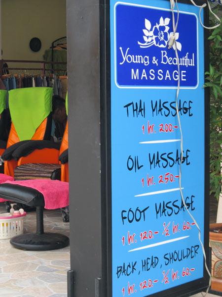 Young & Beautiful Massage