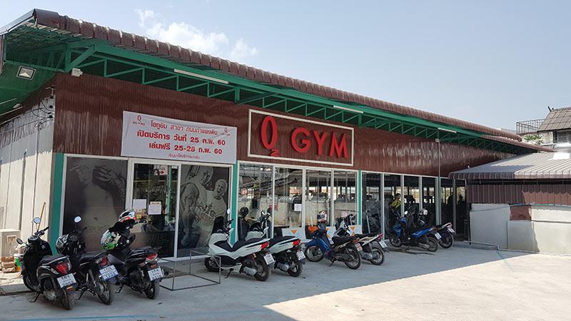 O2 Gym, Kampangdin Rd