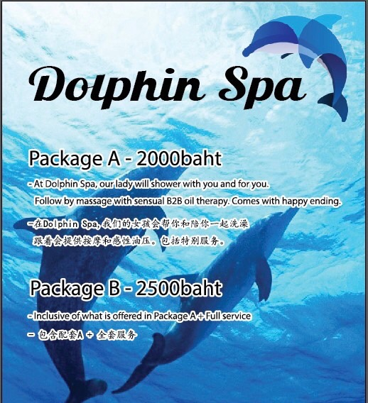 Dolphin Erotic Spa Chiang Mai - sensual massage with hot Thai girls