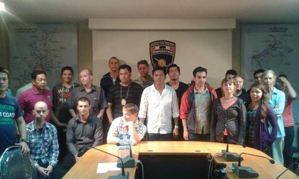 17 foreigners arrested in Chiang Mai