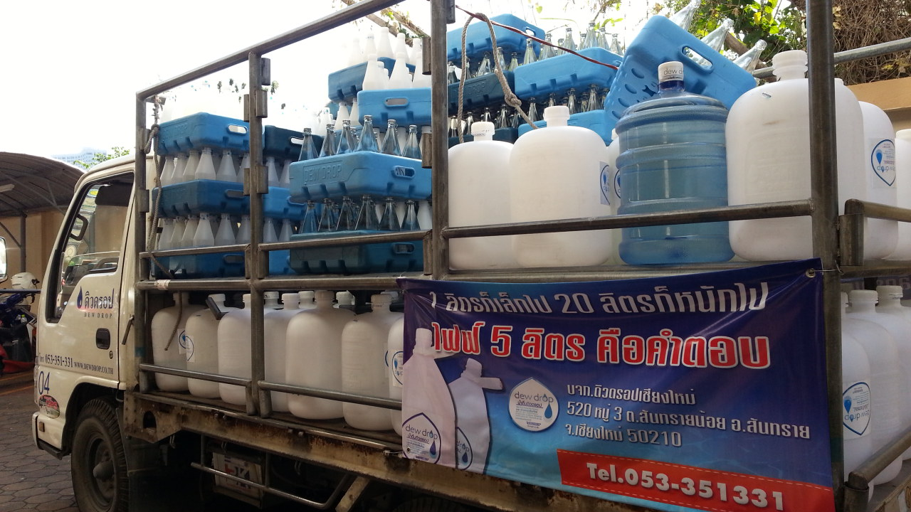 Dewdrop water recycling system