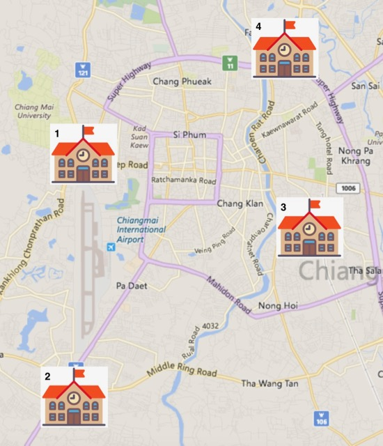 Most attractively priced ED visa programmes in Chiang Mai