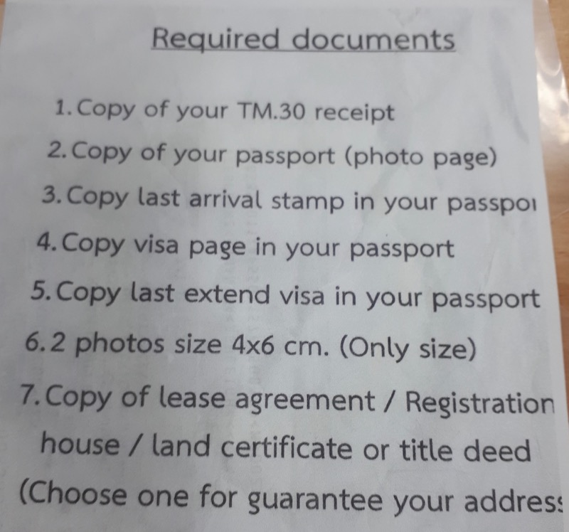 What to bring for residence certificate