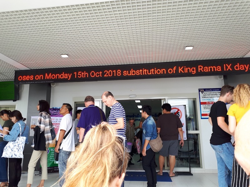 Dealing with Chiang Mai Immigration for visa