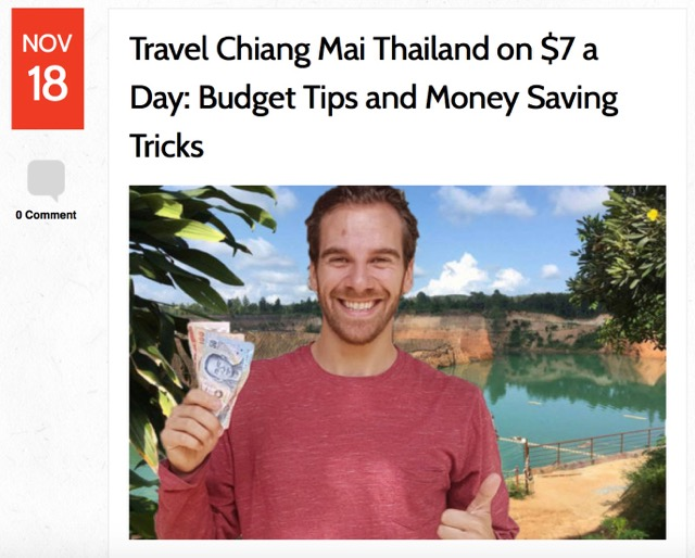 living in chiang mai thailand
