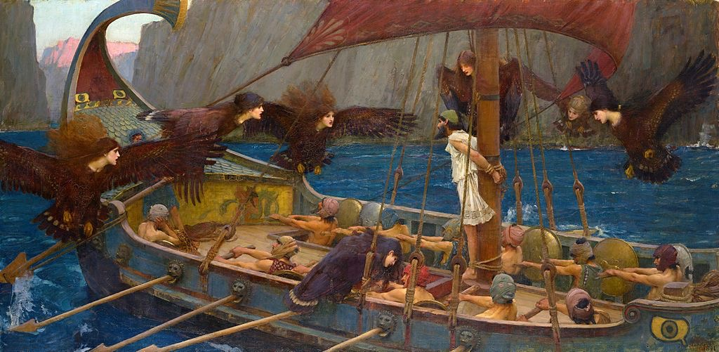 Ulysses facing the Sirens by John William Waterhouse